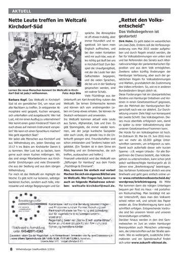 Mehr Demokratie e.V. Landesverband Hamburg: Archiv Pressespiegel